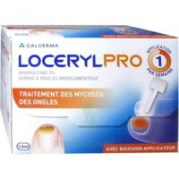 Locerylpro 5 % V Ongles Médicamenteux Fl/2,5ml+spatule+30 Limes+lingettes à BRUGES