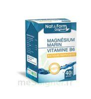 Nat&Form Expert Magnésium+Vitamine B6 Gélules B/40 à BRUGES