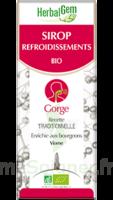 Herbalgem Sirop bio refroidissement 150ml à BRUGES