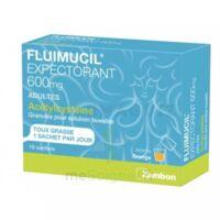 Fluimucil Expectorant Acetylcysteine 600 Mg Glé S Buv Adultes 10sach à BRUGES