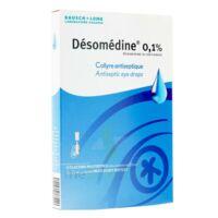 Desomedine 0,1 % Collyre Sol 10fl/0,6ml à BRUGES