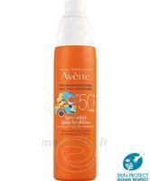 Avène Eau Thermale Solaire Spray Enfant 50+ 200ml à BRUGES
