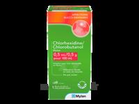Chlorhexidine/chlorobutanol Mylan 0,5 Ml/0,5 G Pour 100 Ml, Solution Pour Bain De Bouche En Flacon à BRUGES