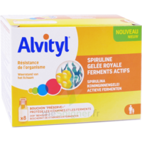 Alvityl Resist Solution Buvable 8 Fioles à BRUGES