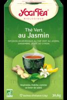 Yogi Tea Thé Vert Jasmin Bio 17 Sachets/1,8g à BRUGES