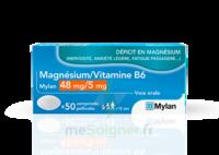 Magnesium/vitamine B6 Mylan 48 Mg/5 Mg, Comprimé Pelliculé à BRUGES