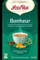 Yogi Tea Tisane Ayurvédique Bonheur Bio 17 Sachets/1,8g à BRUGES