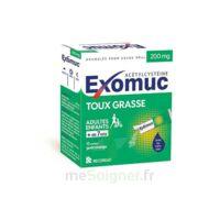 Exomuc 200 Mg, Granulés Pour Usage Oral En Sachet 15 Sachets/2g à BRUGES