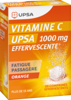 Vitamine C Upsa Effervescente 1000 Mg, Comprimé Effervescent à BRUGES