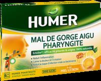 Humer Pharyngite Pastille Mal De Gorge Miel Citron B/20 à BRUGES